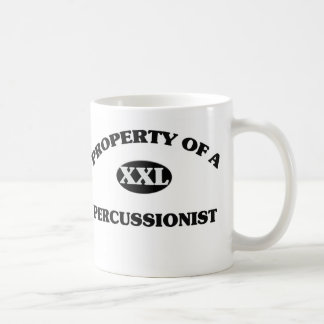 Property of a PERCUSSIONIST Coffee Mug