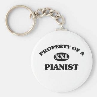 Property of a PIANIST Keychain