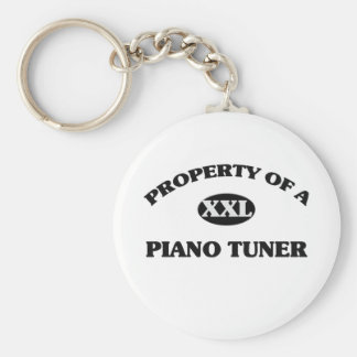 Property of a PIANO TUNER Keychain