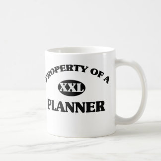 Property of a PLANNER Coffee Mugs