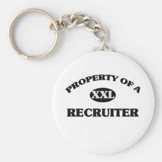 Property of a RECRUITER Keychains