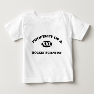 Property of a ROCKET SCIENTIST Baby T-Shirt