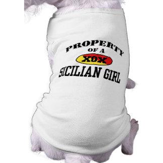 Property of a Sicilian Girl Shirt