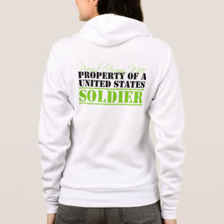 Property Of A Soldier Hoodie