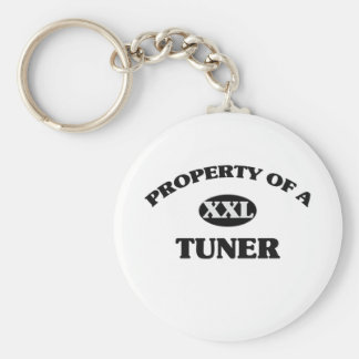 Property of a TUNER Keychain