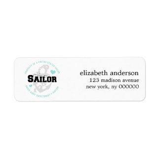 Property of a US Sailor Address Labels