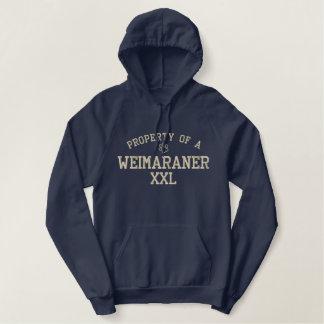 Property of a Weimaraner Hoodie