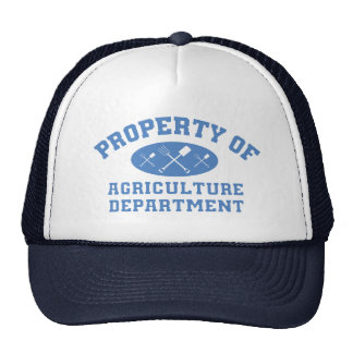 Property Of Agriculture Department (blue) Cap