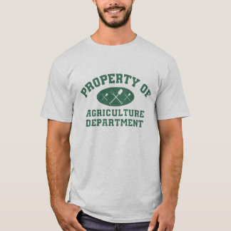 Property Of Agriculture Department T-Shirt