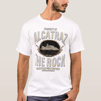 PROPERTY OF ALCATRAZ-THE ROCK T-Shirt