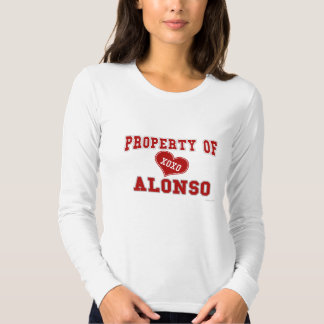 Property of Alonso T-shirt