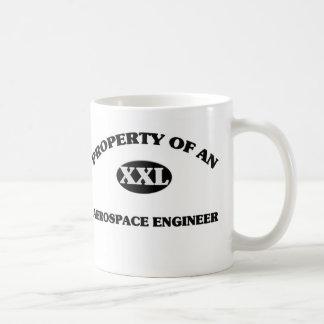 Property of an AEROSPACE ENGINEER Classic White Coffee Mug