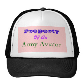 Property, Of An, Army Aviator Trucker Hat