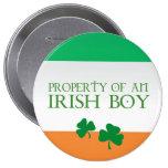 Property of an Irish boy Pin