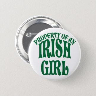 Property of an Irish Girl 6 Cm Round Badge