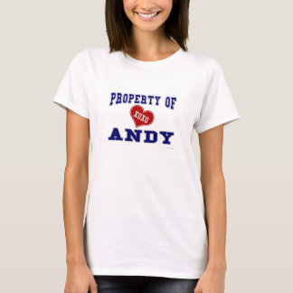 Property of Andy T-Shirt