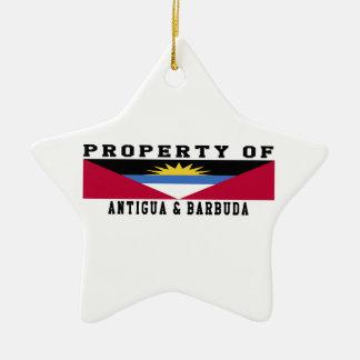 Property Of Antigua and Barbuda Ornament