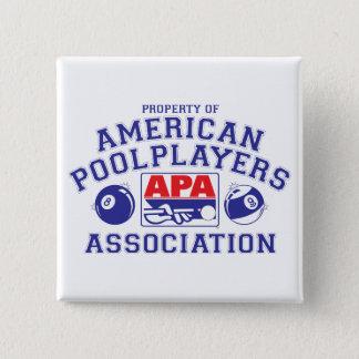 Property of APA 15 Cm Square Badge