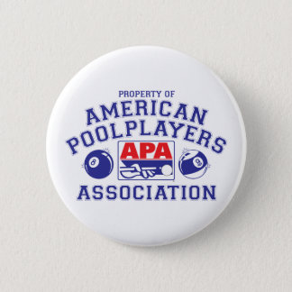 Property of APA 6 Cm Round Badge