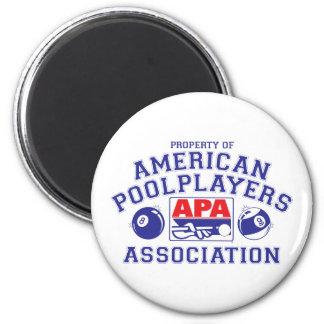 Property of APA 6 Cm Round Magnet