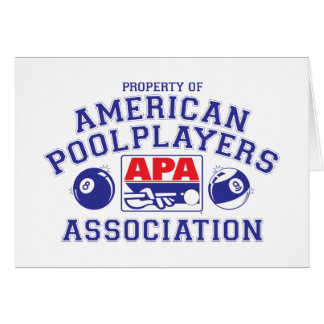 Property of APA Card