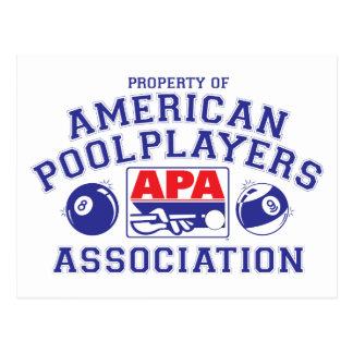 Property of APA Postcard