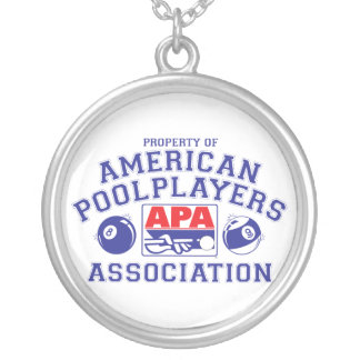 Property of APA Silver Plated Necklace