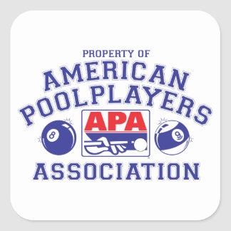 Property of APA Square Sticker
