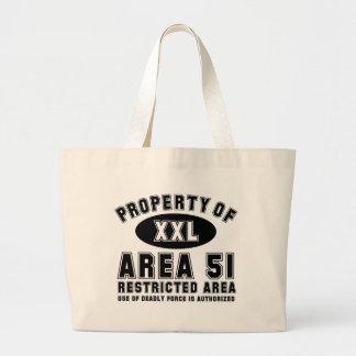 Property of Area 51 Jumbo Tote Bag