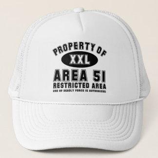 Property of Area 51 Trucker Hat