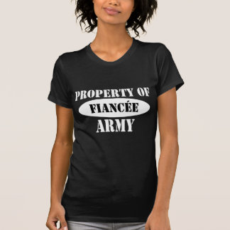 Property of Army Fiancee Tshirts