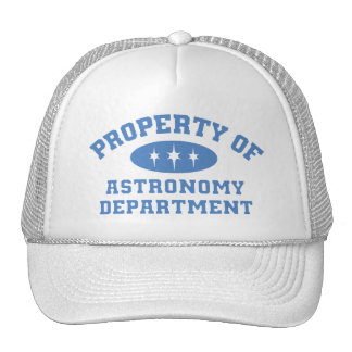 Property Of Astronomy Department (blue) Cap
