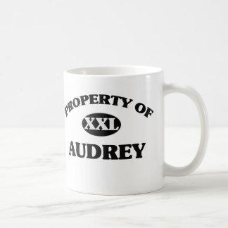 Property of AUDREY Mugs