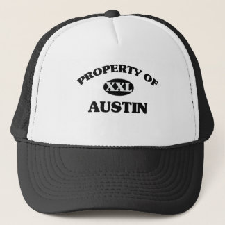 Property of AUSTIN Trucker Hat
