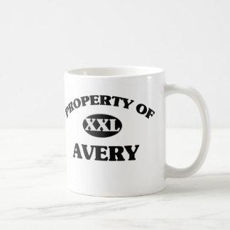 Property of AVERY Coffee Mugs