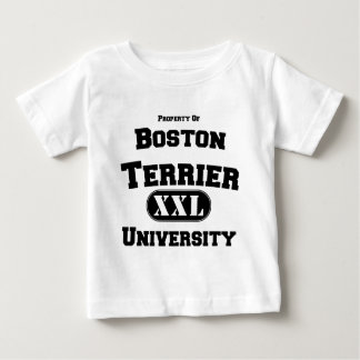 Property of Boston Terrier University Baby T-Shirt