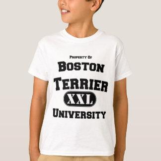 Property of Boston Terrier University T-Shirt