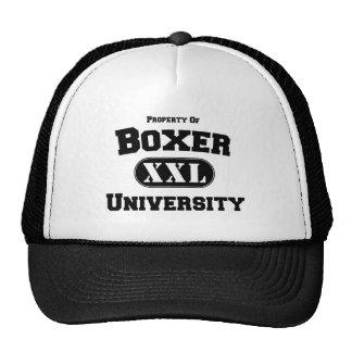 Property of Boxer University Trucker Hat