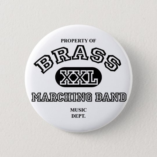 Property of Brass 6 Cm Round Badge
