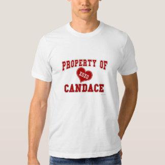Property of Candace T Shirts