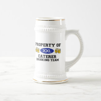 Property of Caterer Drinking Team Coffee Mug