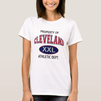 PROPERTY OF CLEVELAND ATHLETIC DEPT. T-Shirt