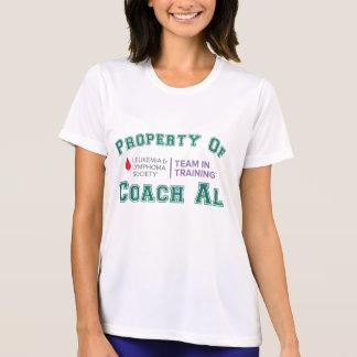 Property of Coach Al T-shirts