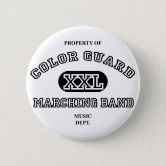 Property of Colorguard 6 Cm Round Badge