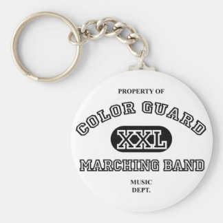 Property of Colorguard Key Ring