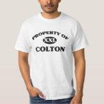 Property of COLTON Tshirt