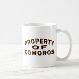 Property Of Comoros Mugs