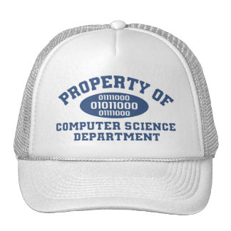 Property Of Computer Science Department (blue) Cap