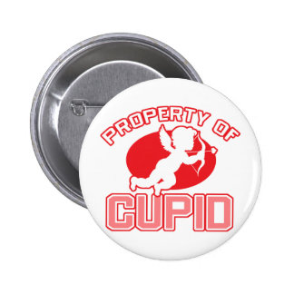 Property of Cupid Valentine's Day Button