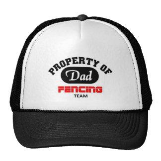Property of Dad Fencing Team Cap